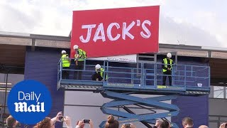 First pictures of Tesco's new discount store Jack's in Chatteris