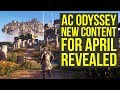 Assassin's Creed Odyssey DLC - NEW ABILITIES, Weapons & More From April Video (AC Odyssey DLC)