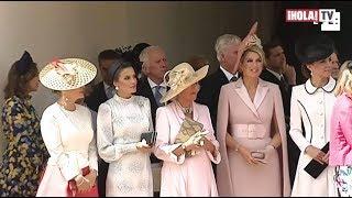 Los looks de las Reinas Letizia de España y Máxima de Holanda en Inglaterra | ¡HOLA! TV