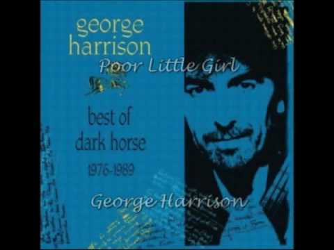 George Harrison - Poor Little Girl (With lyrics)