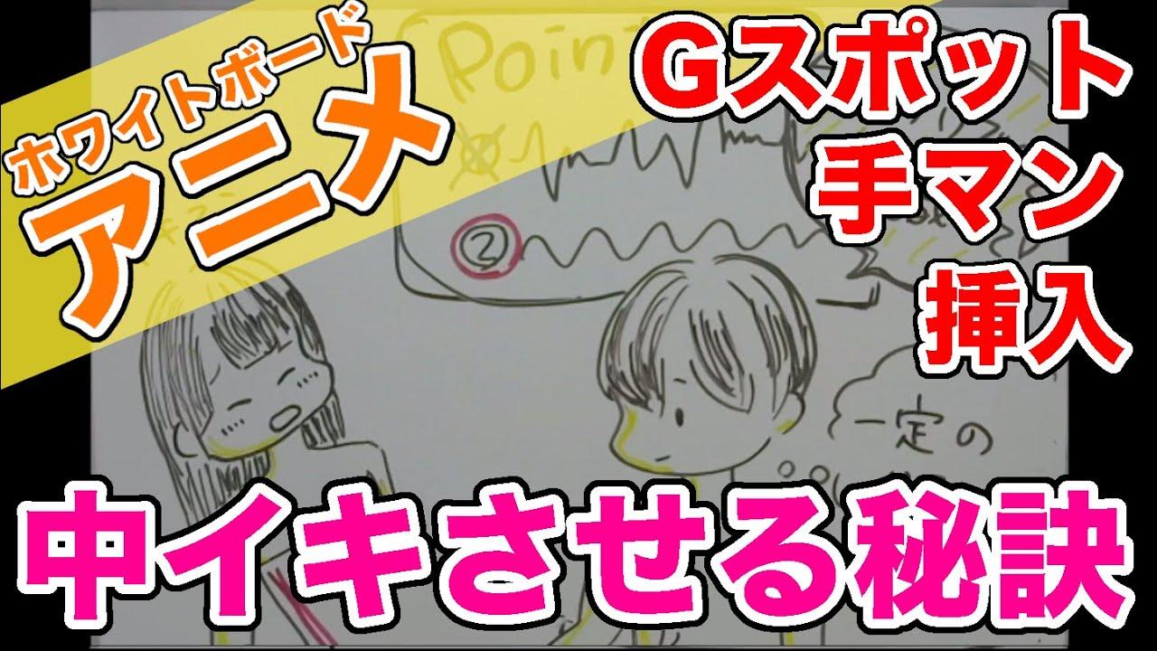 女性を手マン・挿入でGスポットでイカせる方法徹底解説!アニメーション!