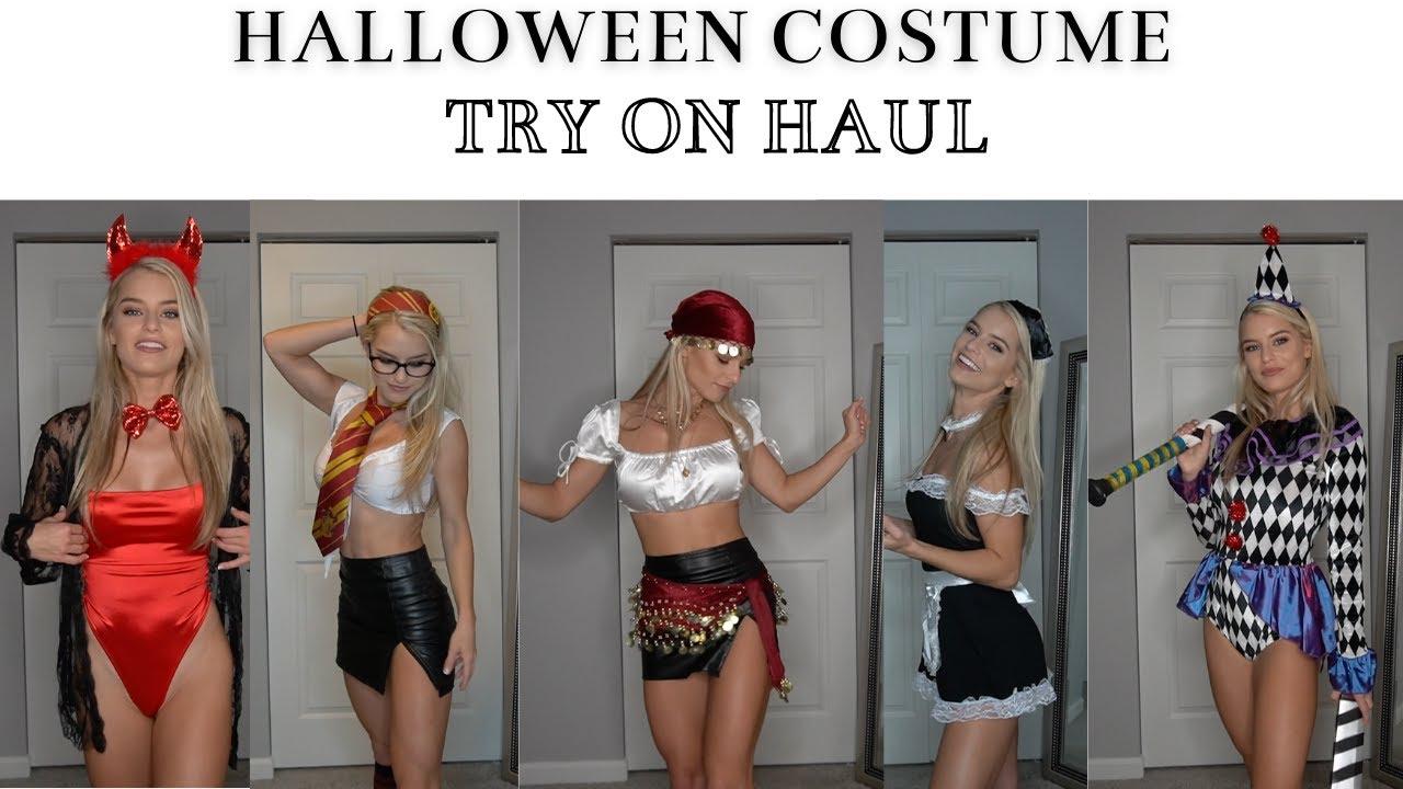 DIY Halloween Costume Ideas - Try On Haul / Cute & Sexy!