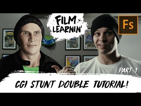 CGI Stunt Double Tutorial Part 1! | Film Learnin