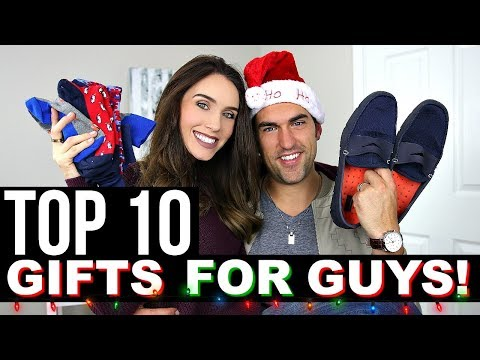 TOP 10 CHRISTMAS GIFTS FOR GUYS   Holiday Gift Guide 2017