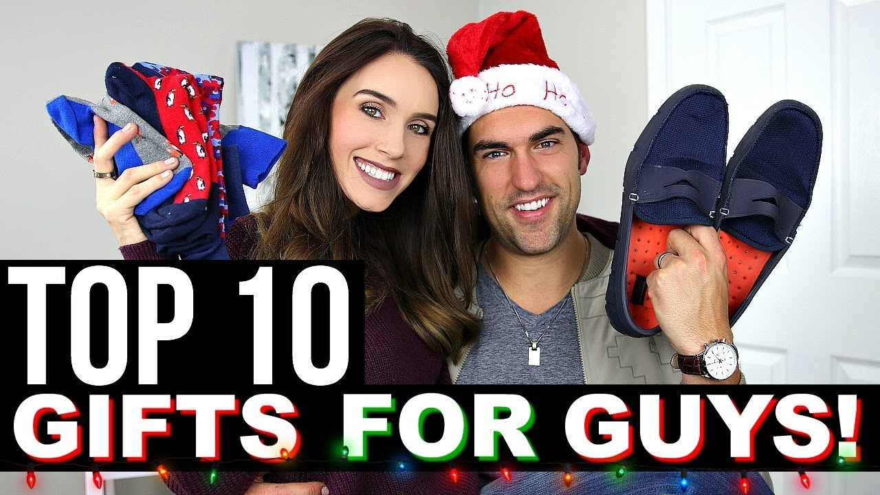 Top 10 christmas gifts for guys | holiday gift guide 2017 youtube.