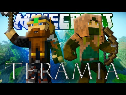 Minecraft: TERAMIA - Huge Minecraft RPG Adventure Map!