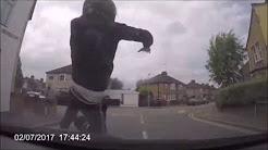 Insurance fraud attempt caught on car dash cam