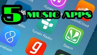 TOP 5 Music Player Apps For Android | Best Free Music APK For Android