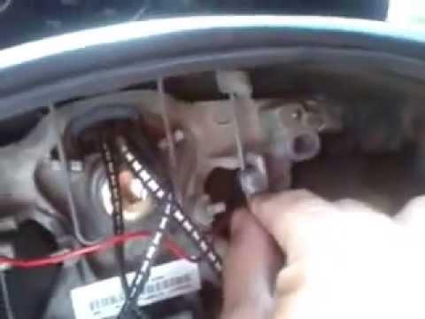 como desmontar el volante de una citroen berlingo - YouTube
