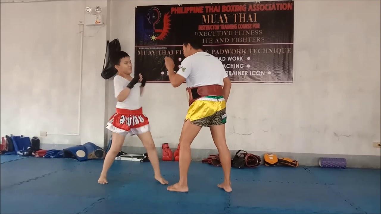 Download My first Muaythai training