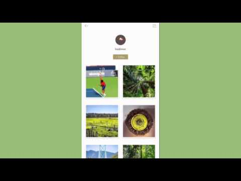 【iOS】'Follow' your favorite photographer and share the inspiration
