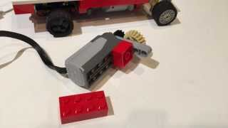 how to build a lego rc mini truck