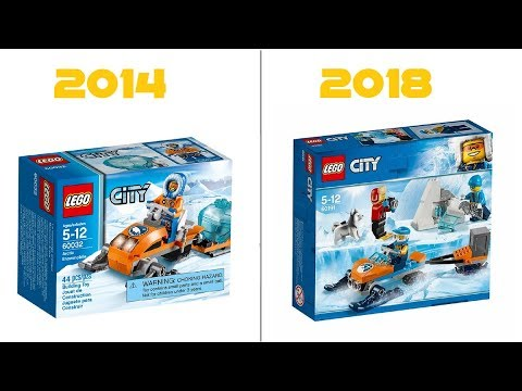 LEGO CITY - 60191 Arctic Exploration Team VS 60032 Arctic Snowmobile - HD-Pictures + COMPARISON