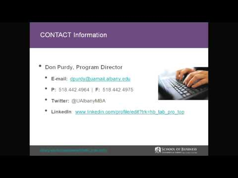 GMAT Preparation Webinar Questions and Answers UAlbany Weekend MBA