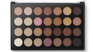 bh cosmetics neutral eyes palette review