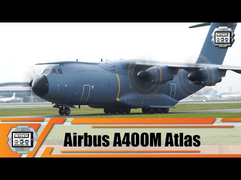 Arrival of first A400M military transport aircraft of binational Luxembourg-Belgium unit at 15 Wing