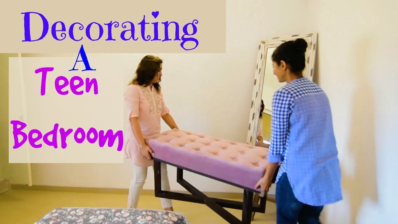Decorating A Teen Room : An Indian Room Tour : Home Decor Tips & Ideas With  Pallavi
