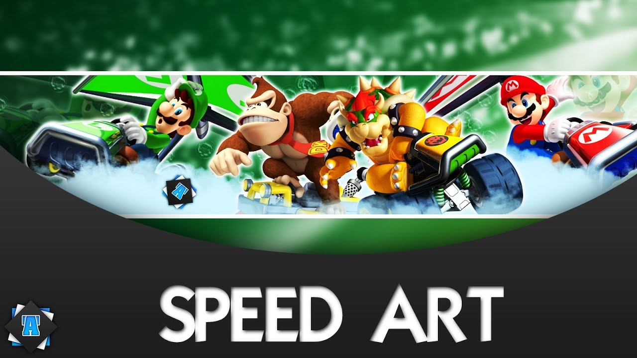 Speed art banni re youtube gratuit 6 mario kart 7 - Mario kart wii gratuit ...
