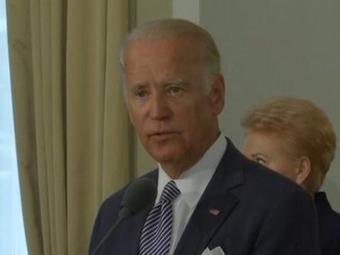 Biden Calms Euro Fears On Trump NATO Plans