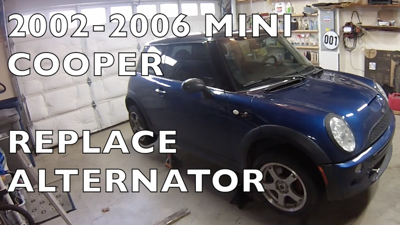 How To Replace Water Pump >> Replace Alternator - 2002-2006 MINI Cooper S POV - YouTube