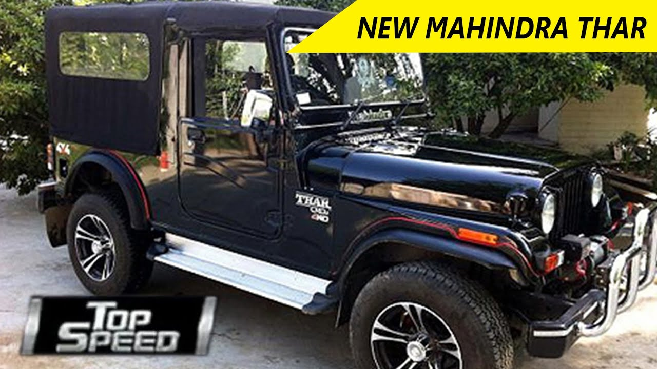 New Mahindra Thar Car Review Top Speed Wheelspin Youtube