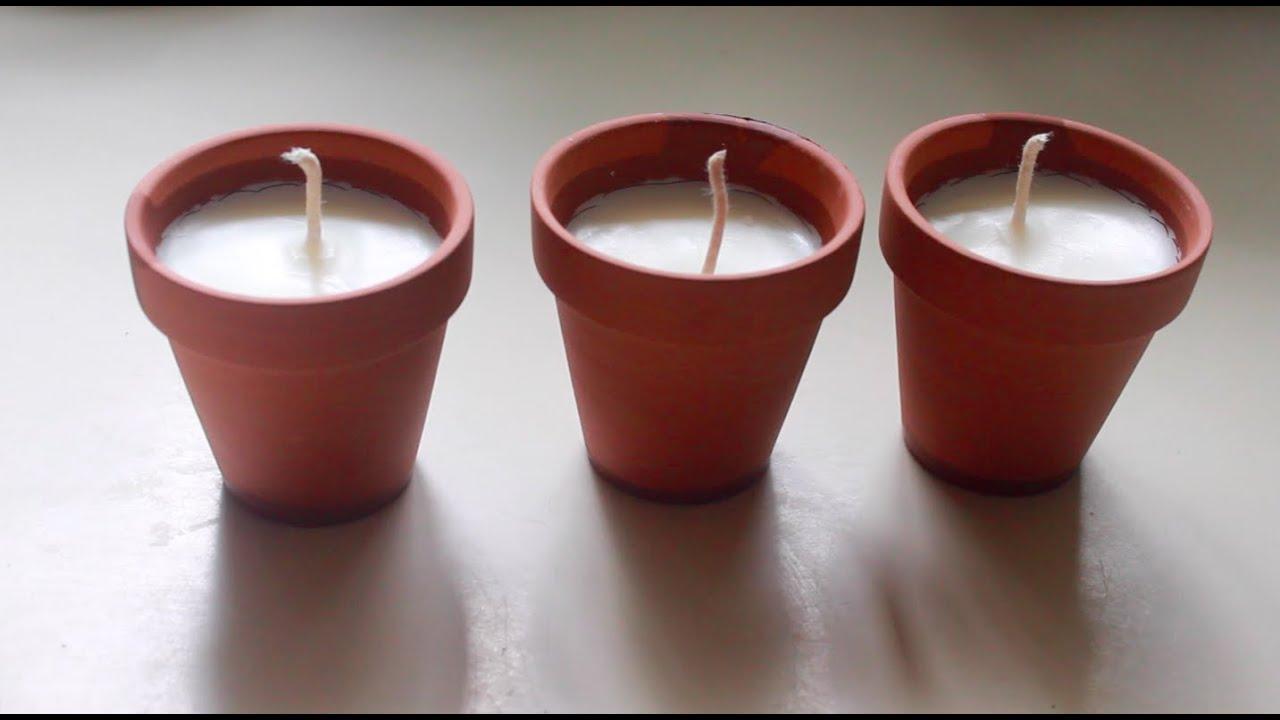 diy citronella candles