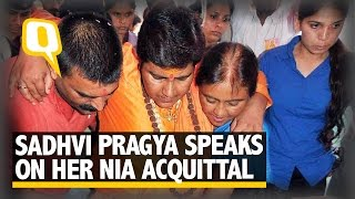The Quint: Sadhvi Pragya Breaks Fast After Being Allowed to Visit Kumbh
