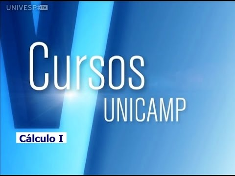 0cac236f7b Cursos Unicamp  Cálculo I - Aula 1 - Introdução - YouTube
