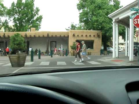 Driving in Santa Fe New Mexico
