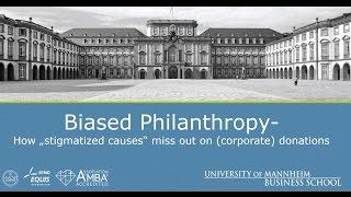 CSR Video Documentaries - Biased Philanthropy - Companies 2