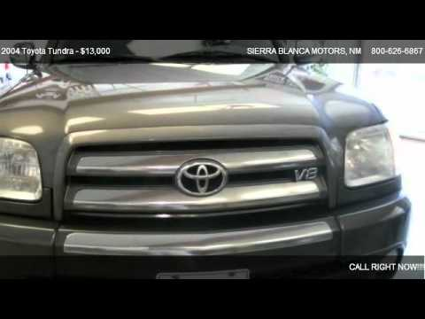 2004 Toyota Tundra Sr5 For Sale In Ruidoso Nm 88355