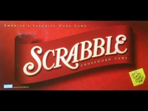 A World Of Cards And Dice: Scrabble
