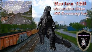 ImmersionRC Vortex 180 | Buzzing the Railroad Tracks in Vermilion Ohio | DEATHRAT69