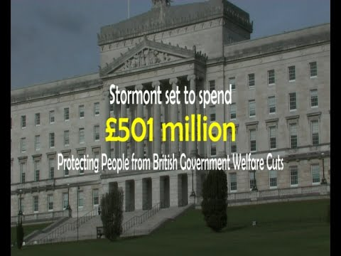 £501 million protection against British government welfare cuts