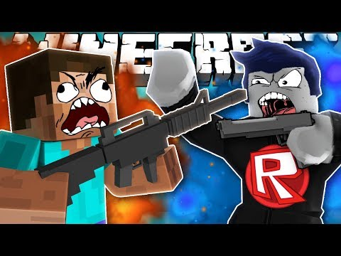 Thumbnail: If MINECRAFT and ROBLOX went to WAR (Weird Comments)