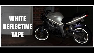 how to install reflective tape   wheels