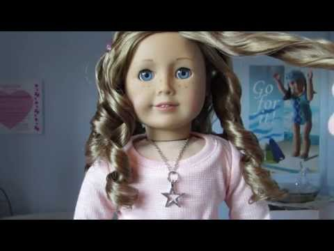 How I Fixed Nicki's Hair/How To De-frizz Your Dolls Hair!