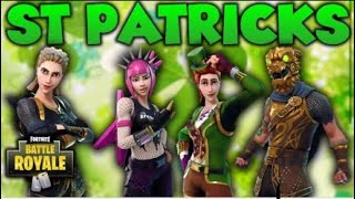 LUCK OF THE IRISH!! IS THE SKIN WORTH IT ? FORTNITE BATTLE ROYALE