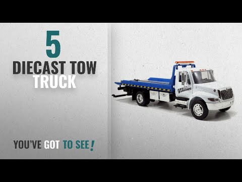 Top 10 Diecast Tow Truck [2018]: Jada Toys Fast & Furious Flatbed Tow Truck 1:24 Diecast Vehicle