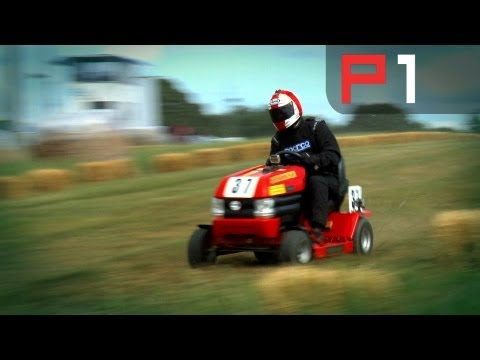 COLIN FURZE - Ep 1 - The Epic Lawn Mower Racing 12 hour!
