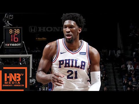 Philadelphia Sixers vs Brooklyn Nets Full Game Highlights / March 11 / 2017-18 NBA Season