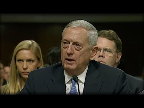 EVERYONE IN WASHINGTON IS RUNNING AROUND LIKE CRAZY AFTER WHAT GENERAL MATTIS SAID ON CSPAN TODAY!