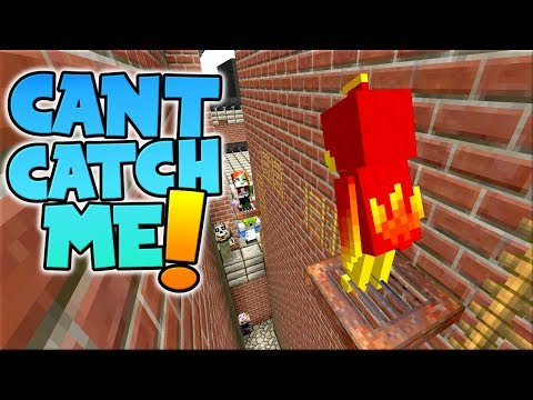 THEY COULDNT CATCH ME !! // Infected City Minecraft