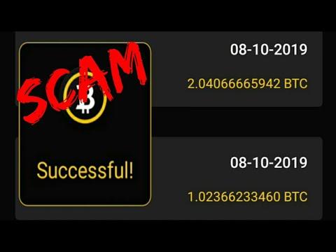 Bitcoin Server Mining App Is SCAM