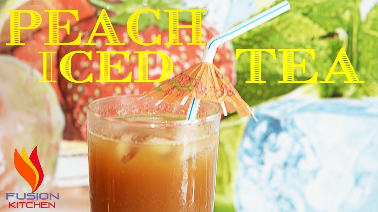 peach iced tea homemade sweet peach iced tea recipe how to make