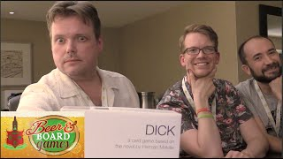 D*ck - Moby Dick-based Card Game (Beer and Board Games)