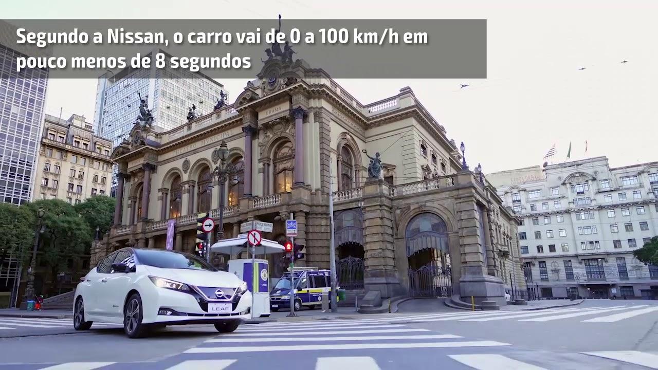 Novo Nissan Leaf Eletrico Chega Ao Brasil Por R 195 Mil