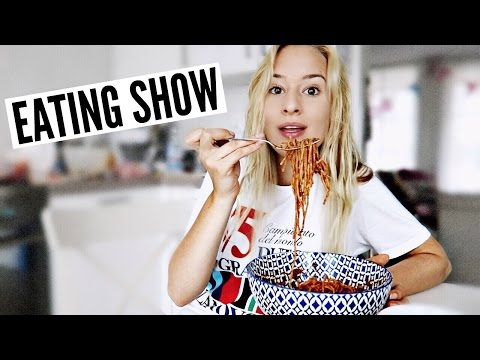 EATING SHOW: Vegan Pasta !!!! | Chanou's Life