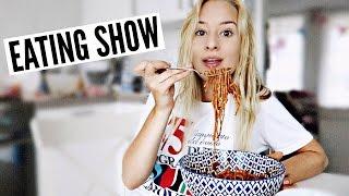 EATING SHOW: Vegan Pasta !!!! | Chanou's Life