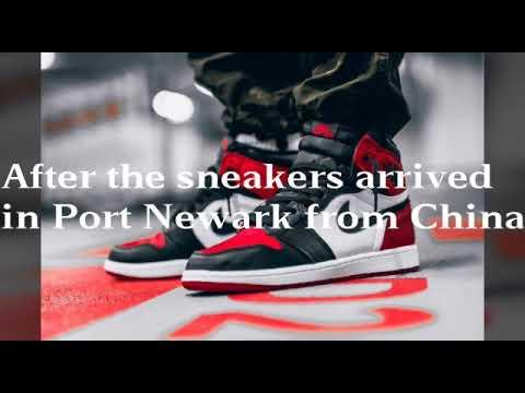 73,000,000 Fake Air Jordan SNEAKER OPERATION   BUSTED